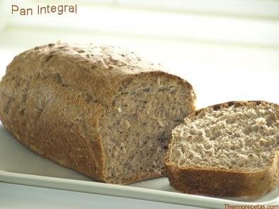 como hacer pan de molde integral en thermomix