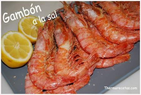 Receta facil thermomix Gambón a la sal