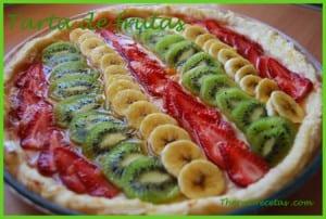 Receta thermomix Tarta de fruta