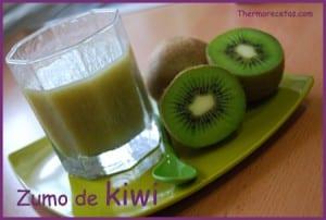 Receta facil thermomix zumo de kiwi