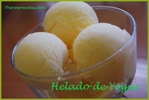 Receta Thermomix Helado de Yogur