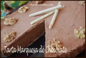 Receta facil thermomix tarta marquesa de chocolate
