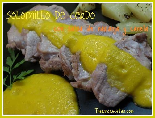 receta salsa naranja thermomix