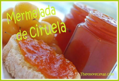 Receta facil Thermomix Mermelada de Ciruela