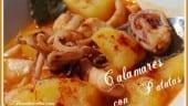 Receta Thermomix Calamares con patatas