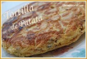 Receta thermomix Tortilla de Patata