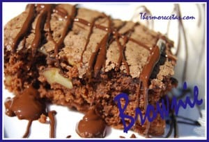 Receta Postres Thermomix Brownie