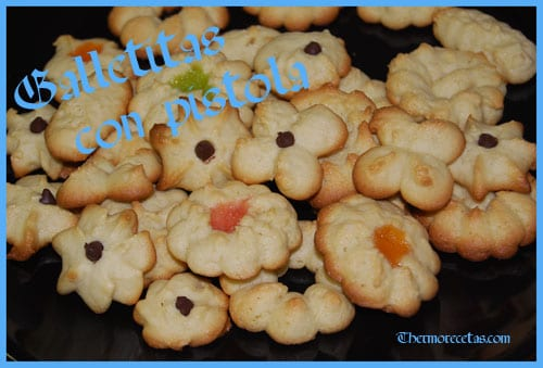 Receta facil Thermomix Galletitas con pistola