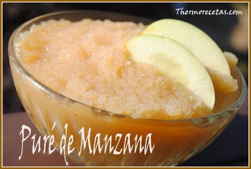 Receta thermomix Puré de manzana