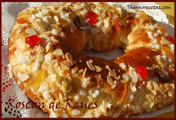 Receta Thermomix Navidad Roscón de Reyes