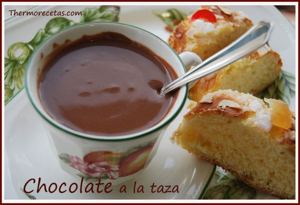 Receta Thermomix Chocolate a la taza