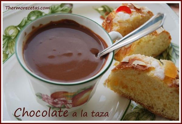 Receta Thermomix Chocolate a la taza