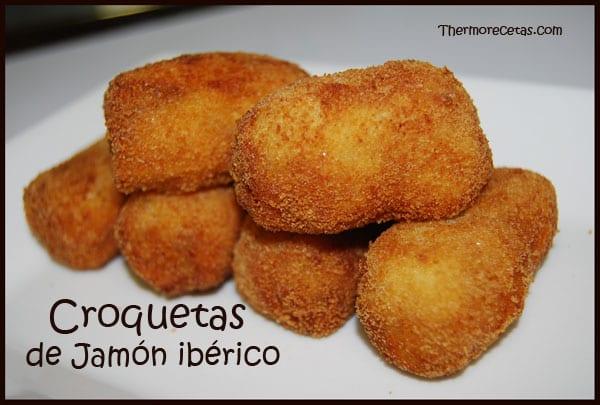 Receta Thermomix Croquetas de Jamón ibérico
