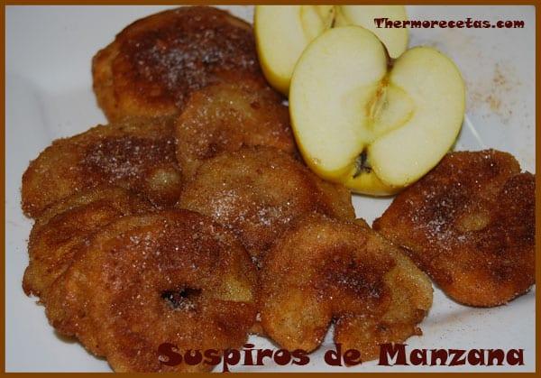 receta postres thermomix suspiros de manzana