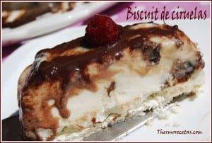 receta postres thermomix biscuit de ciruelas