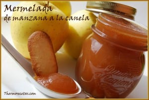 Receta thermomix mermelada de manzana a la canela