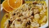Receta thermomix Pechuga de pollo a la naranja
