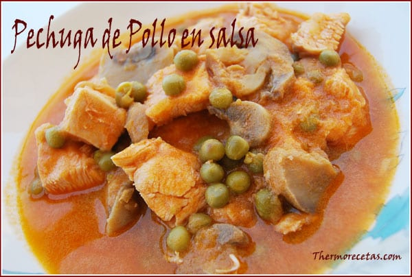 receta thermomix pechuga de pollo en salsa