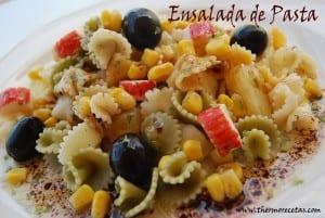 receta thermomix ensalada de pasta