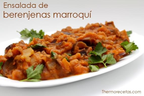 Ensalada Marroquí De Berenjenas