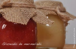 Glaseado de mermelada