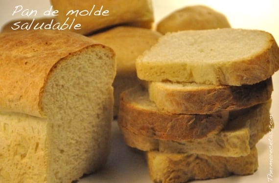 Pan de molde saludable