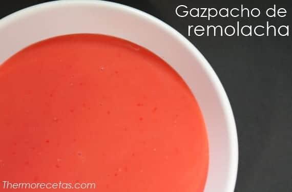 Exótico gazpacho de remolacha