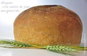 Hogaza con masa de pan enriquecida