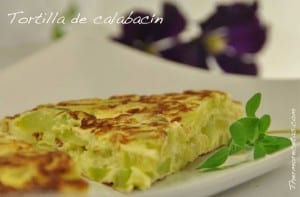 Tortilla de calabacín