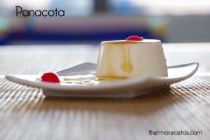 Panacota (flan de nata) con miel