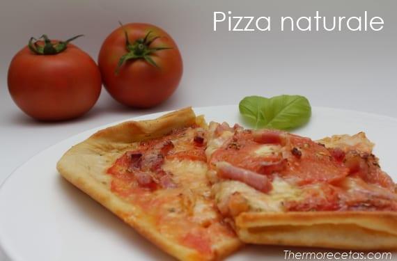 Exquisita pizza naturale casera - Pizza mycook ...