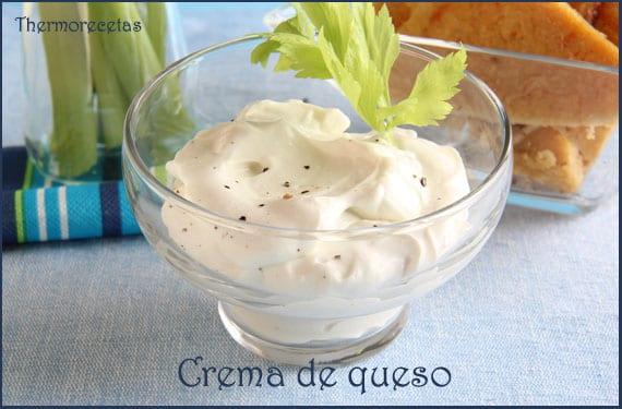 receta de crema de queso