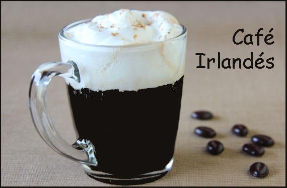 cafe irlandes ingredientes