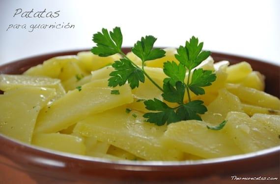 Patatas para guarnición
