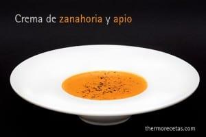 Crema de zanahoria y apio