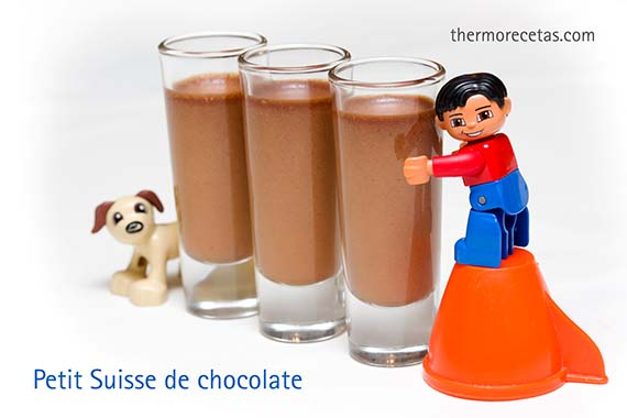 Petit Suisse de chocolate