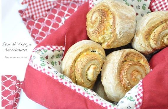Pan al vinagre balsámico