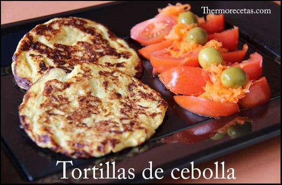 Tortillas de cebolla