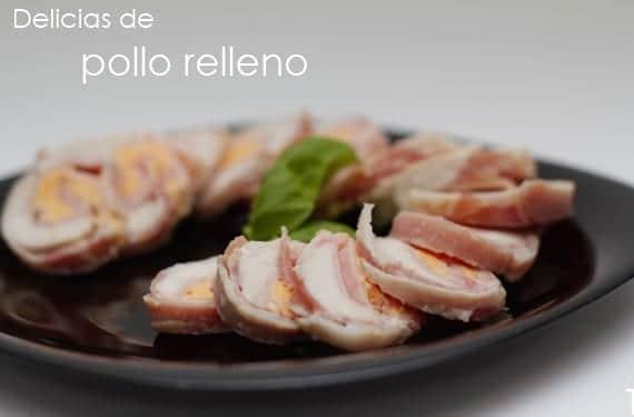 Delicias de pollo relleno
