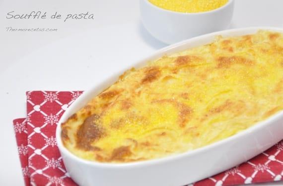 Soufflé de pasta