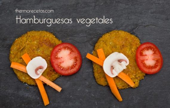 Hamburguesas Vegetales con Setas