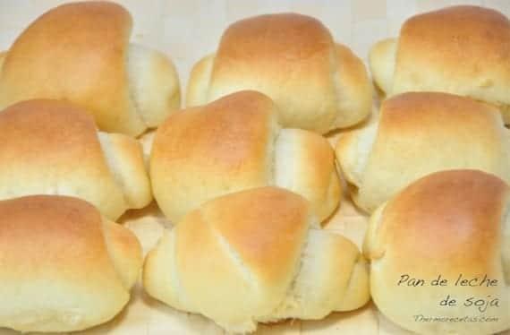 Pan de leche de soja