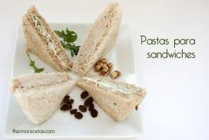 pasta para sandwich