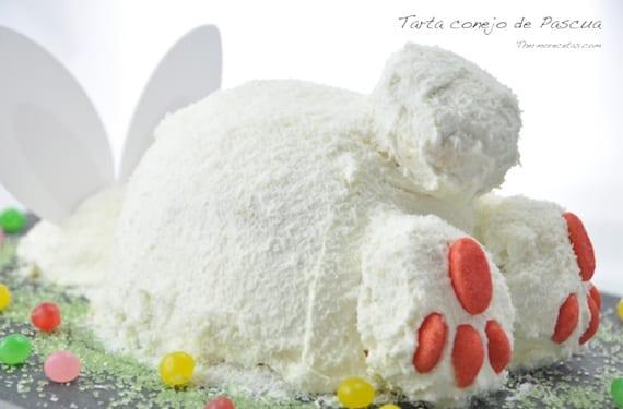 Tarta conejo de Pascua 2
