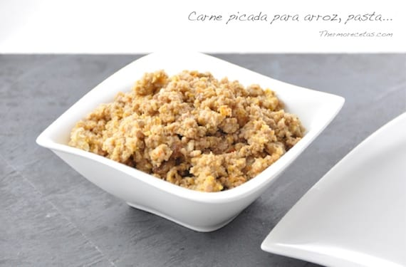 Receta para preparar carne picada para tus platos principales - Que cocinar con carne picada ...