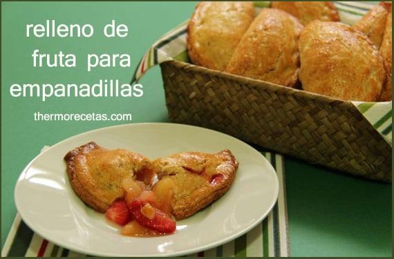 Relleno de fruta para empanadillas