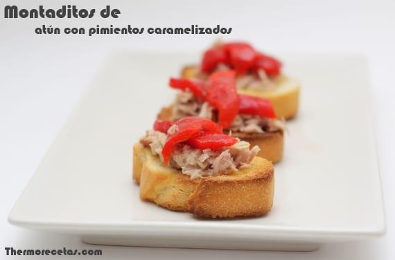 Montaditos_atún_pimientos