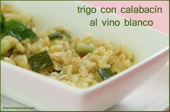trigo-con-calabacín-al-vino-blanco-thermorecetas