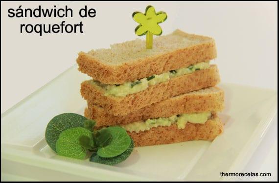 sándwich-de-roquefort-thermorecetas