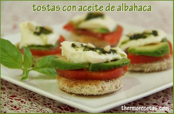 tostas-con-aceite-de-albahaca-thermorecetas